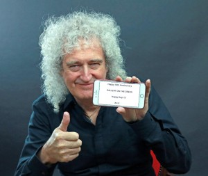 Brian May, who has produced two exhibitions of Victorian photographs is among our many exhibitors wishing us well for our 10th anniversary