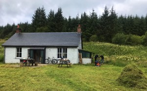The Greensykes Bothy, in the Scottish Borders, which Alex helps maintain